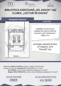"""Lansarea antologiei """"Carusel"""""""