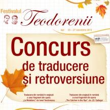 Concurs de traducere și retroversiune
