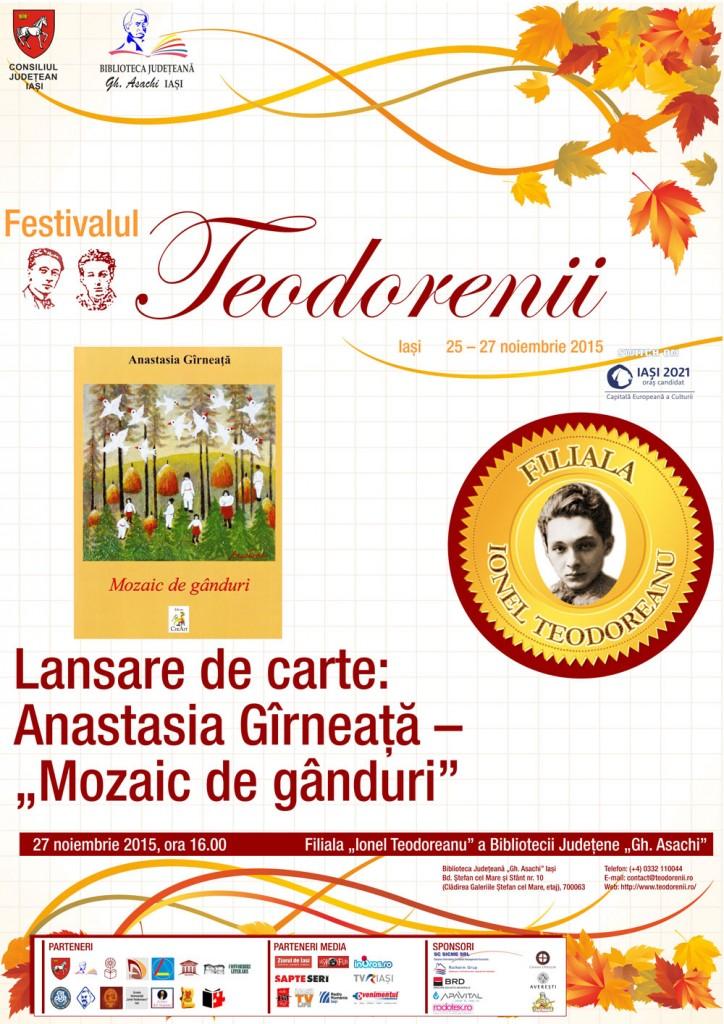 27-lansare carte Girneata-mozaic de ganduri-Fil Teodoreanu