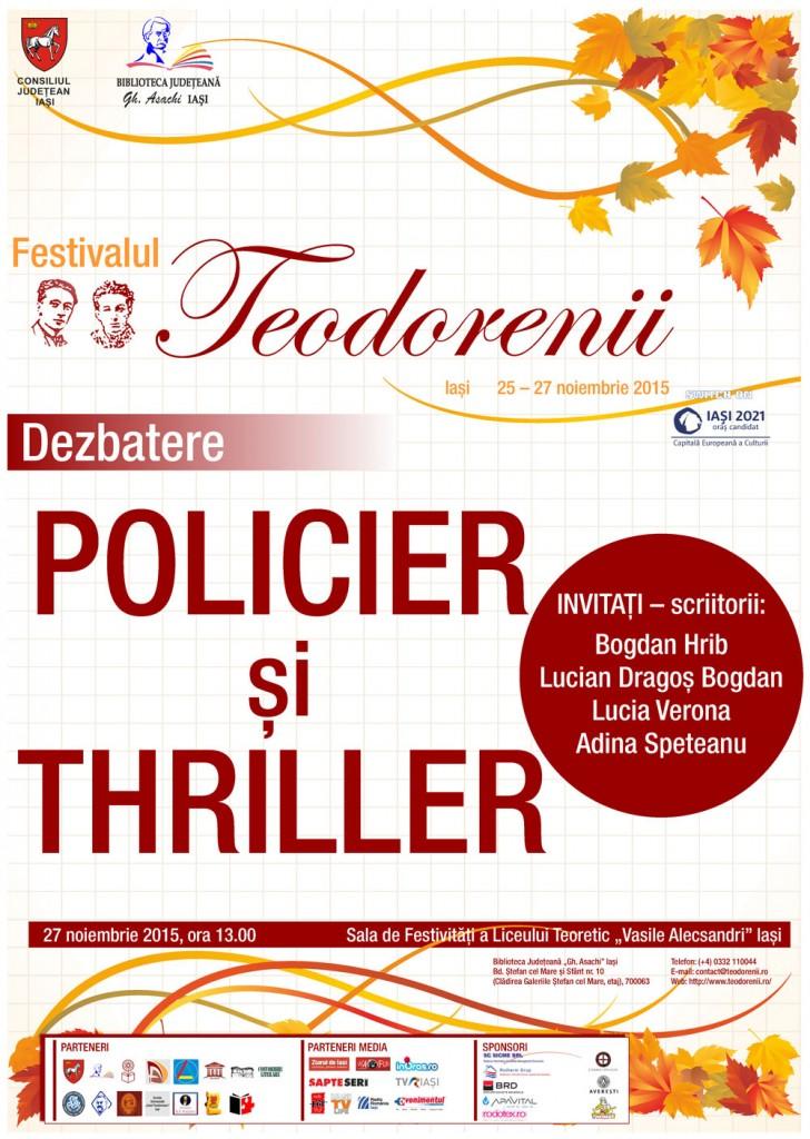 27-Policier si thriller-Liceul Alecsandri