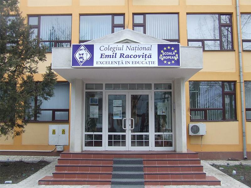 """Colegiul Naţional """"Emil Racoviţă"""""""