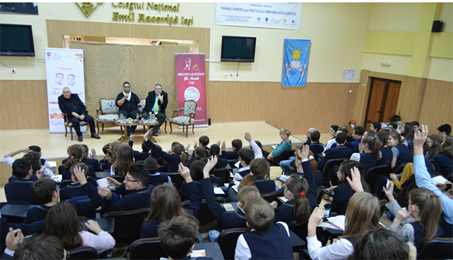 "Dezbatere ""Literatura pentru copii și tineret"""